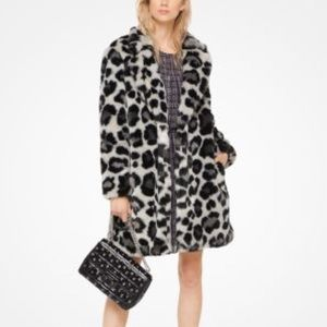 Michael Kors Faux Fur Jacket